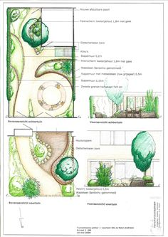 Gardendesign private front & back yard, at 's-Hertogenbosch, The Netherlands, by Hans Pardoel Tuinen.