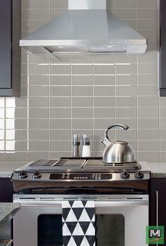 X Frost Glass Tile At Kitchen And Butlers Pantry Backsplashes - 3x8 tile backsplash