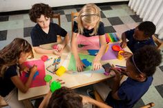 Incorporate National Craft Month into your daily lessons with these great ideas that span across the curriculum.