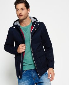 69e1f0a818ee Mens Superdry New York Harbour Coat Nautical Navy ebay  pinterest  fashion   clothingstore