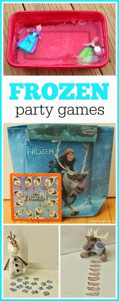 FROZEN party game ideas, especially love the frozen princess idea