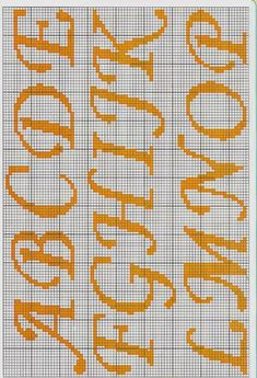 Excellent recommendations to discover Cross Stitch Letter Patterns, Monogram Cross Stitch, Cross Stitch Borders, Cross Stitch Baby, Cross Stitch Designs, Cross Stitching, Cross Stitch Embroidery, Stitch Patterns, Embroidery Alphabet