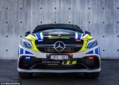 The new vehicle is faster than the police's current Ford Falcon and Holden Commodore patrol cars