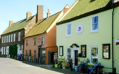 The best English villages-Burnham Market, Norfolk Burnham Market (burnhammarket.co.uk) is one of Norfolk's classic brick-and-flint villages, with Georgian houses clustered around a broad, central green. It has a good selection of clothing and crafts shops. Best for food is Humble Pie (humble-pie.com) and, for fresh local fish, go to Gurneys (gurneysfishshop.co.uk).