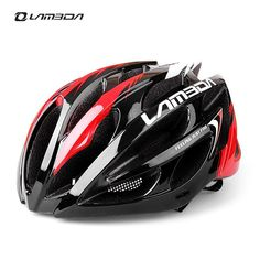 LAMBDA Integrally molded Cycling Helmet for Bike Bicycle MTB 23 Vents Ultralight Bicycle Accessories H069