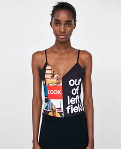 Image 2 of PRINTED BODYSUIT from Zara