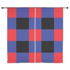 Shop Black and Red and Blue Square Curtains designed by Adrianne_Desire. Lots of different size and color combinations to choose from. Blue Square, Curtain Designs, Shower Curtains, Color Combinations, Red And Blue, Black, Color Combinations Outfits, Red And Teal, Black People