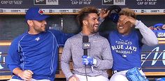 Who has the best hair? no I'm dead serious. Devon all the way to Mars Baseball Live, Baseball Cards, Sports Sites, Toronto Blue Jays, Go Blue, Diamond Are A Girls Best Friend, Blue Bird, Cool Hairstyles, Raptors