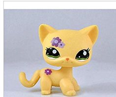 Littlest Pet Shop LPS Toy Lps822 Girl Gift Purple Bear Blue Eyes