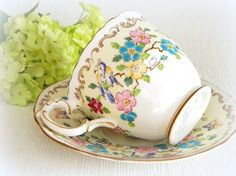 Birds and Flowers by Susan Norwood on Etsy