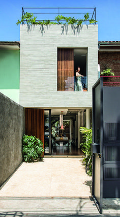 Architecture Art Design, Modern Architecture House, Facade Design, Architecture Details, Chinese Architecture, Exterior Design, Minimal House Design, Modern Small House Design, Home Design