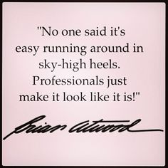 Are you a high heel professional? #brianatwood #thesexisintheheel #Padgram