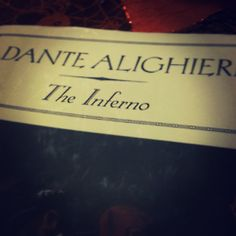 Dante's Inferno (epic poetry)