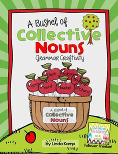 A Bushel of Collective Nouns: Free grammar craft