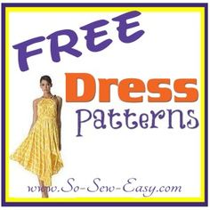 So Sew Easy - huge list of free dress patterns with photos and links