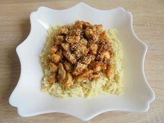 Mogyoróvajas-szezámos csirke Meat, Food, Essen, Meals, Yemek, Eten