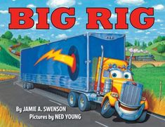 Frankie, an eighteen-wheel, semi-truck invites the reader to join him on a job, introducing the work, mechanics, and terminology of trucking along the way.