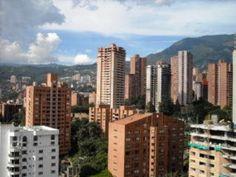 The El Poblado neighborhood in Medellin