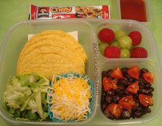 Yummy taco lunch packs up perfect in @EasyLunchboxes