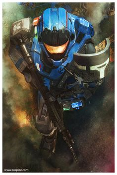 Spartan III- 259  Carter  Halo Reach