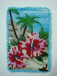 Lin Handmade Greetings Card: Artist Trading Cards