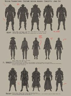 Some character costume sketching , Jono Coy on ArtStation at http://www.artstation.com/artwork/some-character-costume-sketching: