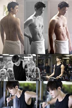 "Sung joon..  ahhhh since when your body become more delicious   (New ""High Society"" Stills of Sung Joon and Park Hyung Sik Revealed That Flaunt Their Muscular Bodies)"