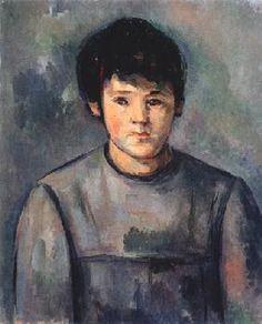 Paul Cézanne - Girl portrait