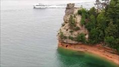 Miners Castle Along Pictured Rocks (Michigan)