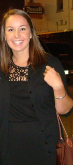Ann Marie Sammon: Freshman who's still dating her high school sweetheart