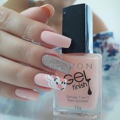 pretty french nails nagel winter and christmas nails art designs ideas 31