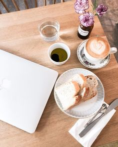 Cappuccino & homemade bread at Flät no 14 in Helsinki, Finland #coffee #coffeeshop #coffeetable #coffeeaesthetic #flatlay #cafe #helsinki #finland Helsinki, Finland, Coffee Shop, Bread, Homemade, Instagram, Coffee Shops, Coffeehouse, Home Made