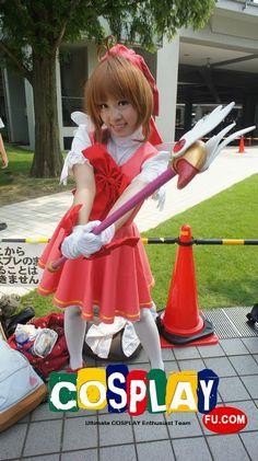 Sakura Kinomoto Cosplay from Cardcaptor Sakura at コミックマーケット84(Comiket 84)