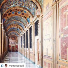 """#Repost @matteoacitelli with @repostapp. ・・・ Amazing morning in #VaticanMuseums for #EmptyVatican {@vaticanpatrons} w/@ericafirpo, @saverome, @aivenn,…"""