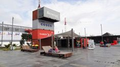 The Wynyard Quarter Shipping Container Conversion Kiosk Auckland New Zealand 2