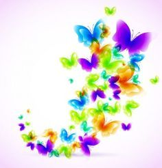 Resultado de imagen para vectores florales de colores png