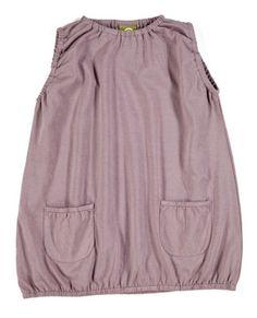 Nui Organic Mauve Bubble Hem Dress Size 18 24 Months $34 | eBay