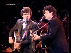 Everly Brothers' Bird Dog, reunion concert at Albert Hall, 1987 I Love You Means, American Bandstand, 60s Music, Motown, List, Live Tv, Classical Music, Song Lyrics, Music Artists