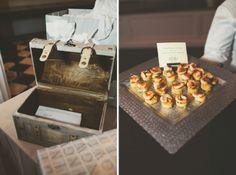 Shrimp & Grit Cakes by Hamby! Dixie & Patrick | Hibernian Hall | The Wedding Row | The Wedding Row