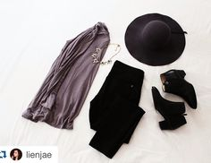 Love how @lienjae wore our favorite floppy felt hat   Check out how she wears her other #LVKiki accessories at lienjae.com/post/139435753686  Or at lvkiki.com -> subscribe -> testimonials   #shoplvkiki #lvk #fashion #accessories  Repost @lienjae with @repostapp. ・・・ Today's layout featuring @journeyfive, @forever21, @rheafootwear, @shoplvkiki, and @thaisann!  Head over to my blog >>> LienJae.Com for more details and photos! ❤️