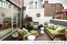 Modern and Contemporary Rooftop Terrace Designs