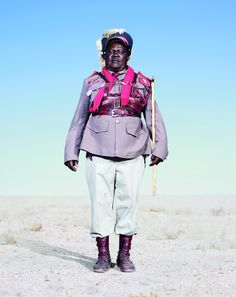 'Conflict And Costume': Photographer Jim Naughten Captures Herero Of Namibia In Stunning Garb (PHOTOS)