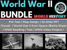 World war ii bundle wwii teacher pay teachers and social studies world war ii bundle wwii interactive mapworld gumiabroncs Images