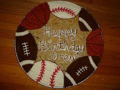 Indulge With Me: Happy Birthday Drew! Indulge With Me: Happy Birthday Drew! Birthday Cake Cookies, Happy Birthday Torte, Cupcake Cookies, Cookie Cakes, Giant Cookies, 2nd Birthday, Birthday Ideas, Cookie Cake Decorations, Cookie Cake Designs