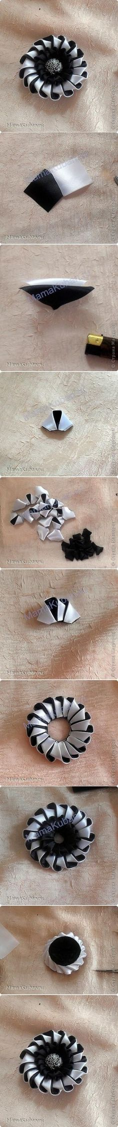 DIY Circular Flower