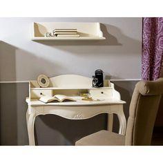 Mesa Escritorio Vintage Blanca Maison #Ambar #Muebles #Deco #Interiorismo   http://www.ambar-muebles.com/mesa-escritorio-vintage-blanca-maison.html