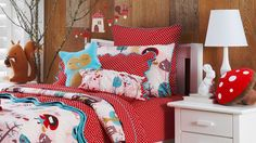 Little Red Sheet Set