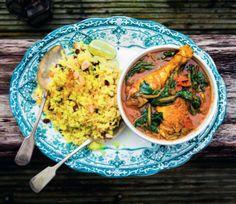 Chicken Curry and Cauliflower Rice