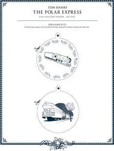 polar express ornaments