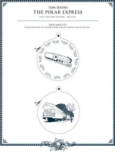 The Polar Express - Ornaments 3